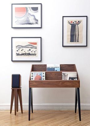 Record Stand Record Stand Dj Room Modern Entertainment Stand