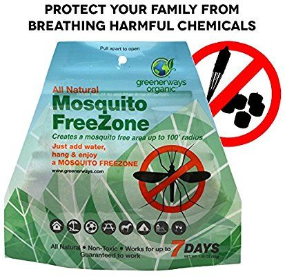 Amazon Com Greenerways Organic Mosquito Repellent Zone Non Toxic Organic Insect Repe Organic Mosquito Repellent Organic Insect Repellent Mosquito Repellent