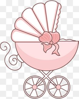Cartoon Baby Stroller, Cartoon Clipart, Baby Clipart