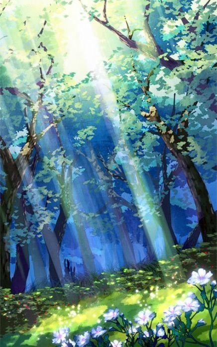 New Landscaping Watercolor Circle 70 Ideas Landscaping Anime Scenery Landscape Art Fantasy Landscape