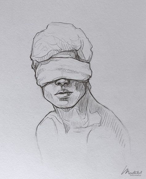 My Sketchbook Art I Dreamy Blindfolded Drawing Guy I Cute Sketch I Sketchy Art I. - My Sketchbook Art I Dreamy Blindfolded Drawing Guy I Cute Sketch I Sketchy Art Ideas I Pen Pencil d -
