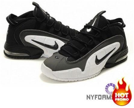 nike air max penny 1 black/dark grey-white matter
