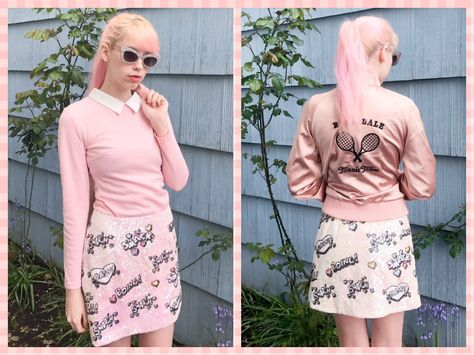 6ca5bdc4d03265 @mermaidens in our sequin kissing mini skirt! #skirt #sequin #blogger #blog  #miniskirt #vintage #vintagestyle #bettyandveronica #archie