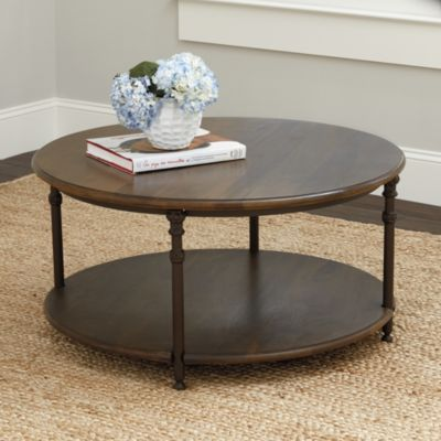 Toulouse Round Coffee Table Round Wooden Coffee Table