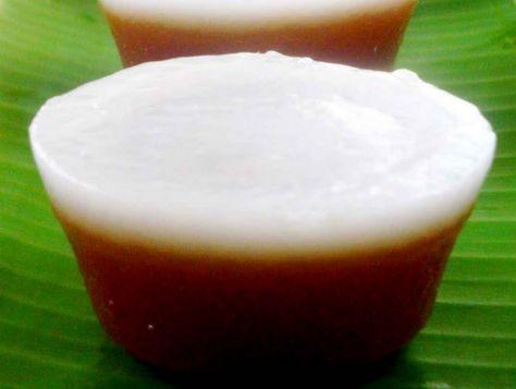 Resep Kue Talam Tepung Beras Gula Merah Manis Enak Makanan Ringan Manis Resep Kue Kue