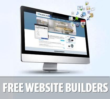 25 Free Website Builders – Make a Website Quickly and Easily   Website Designing   Graphic Design Blog