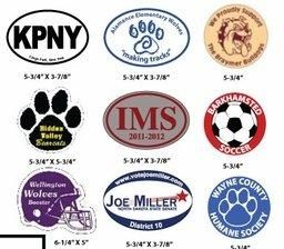 Promote Your Brand Using Different Custom Car Magnets Car - Custom car magnets oval promote your brand