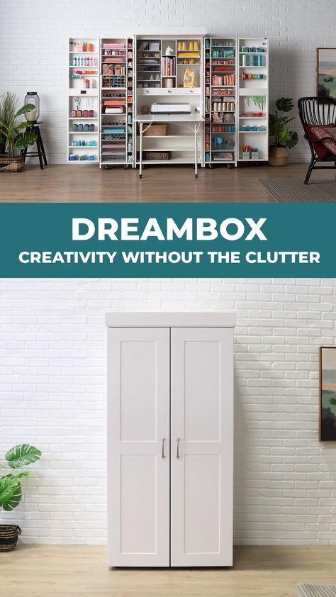 20 Best Craft Room Storage and Organization Furniture Ideas - HomeDeCraft