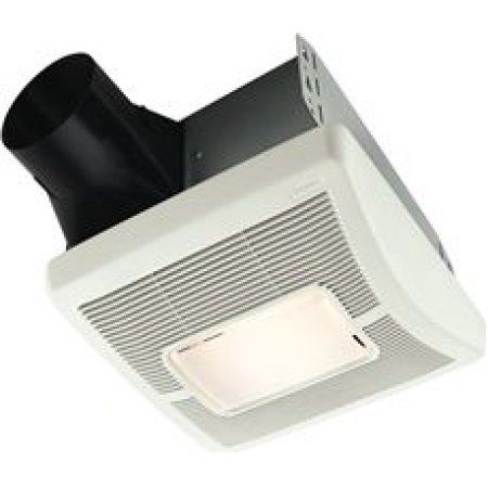 Broan Invent Single-Speed Bathroom Exhaust Fan With Light