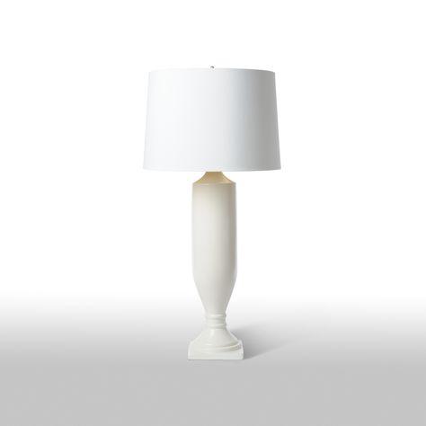 Estate White Barbara Cosgrove Lamps | Table lamp, White