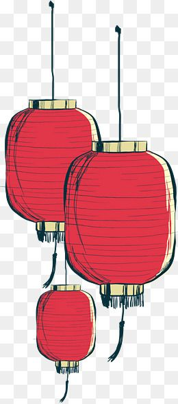 Hand Painted Chinese Lantern Vector Png Lantern Red Lantern Png Transparent Clipart Image And Psd File For Free Download Red Lantern Chinese Watercolor Red Fall Watercolor