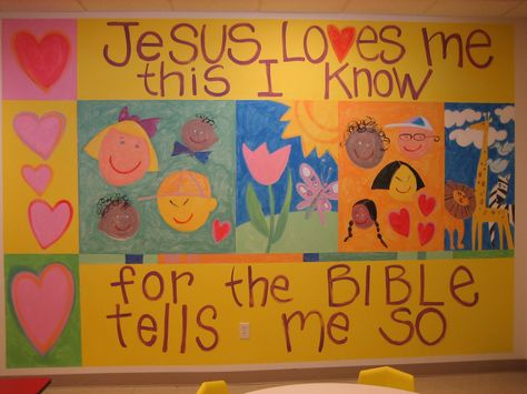Great bulletin board that the kids can help with.