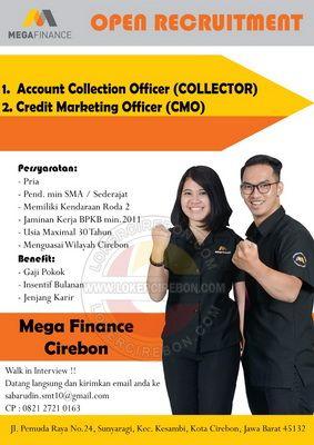 Lowongan Kerja Mega Finance Kota Cirebon Di 2020 Marketing Kota