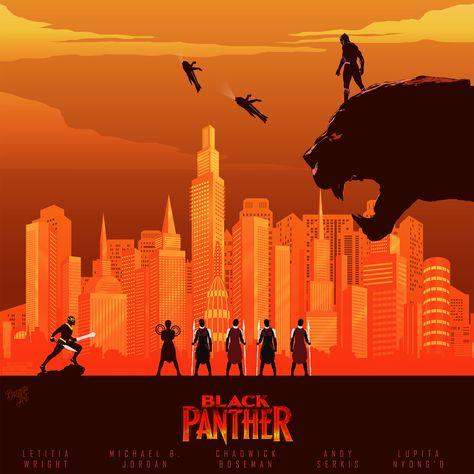 Black Panther (by Daanesh Bhathena)