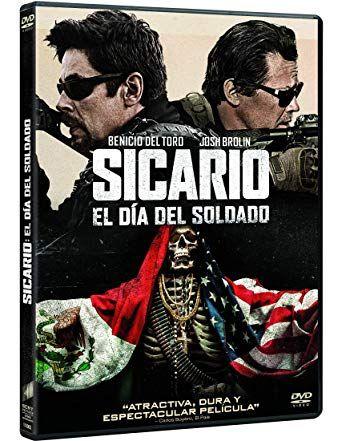 Sicario El Dia Del Soldado D Dvd Pen Sic 1245 Josh Brolin Sony Pictures Dvd