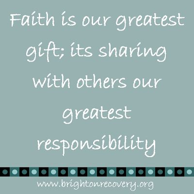 Brighton Center For Recovery Vlog: Faith is our greatest gift...
