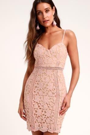 22+ Blush cocktail dress ideas