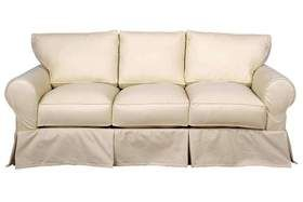 Dilworth Slipcovered Three Cushion Sofa Cushions On Sofa Slipcovers Sofa Bed Dimensions