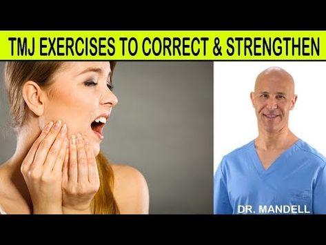 Tmj Exercises To Correct Strengthen Dr Alan Mandell Dc