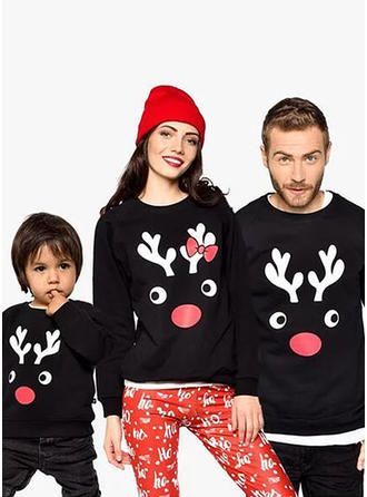 Matching Family Christmas Outfits.Veryvoga Deer Family Matching Sweatshirts Products