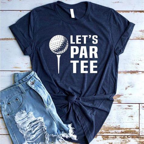 Funny Golf Shirt, Let's Par Tee, Golfing Shirt, Golf Gift, Gift for Golfer, Grandpa Golf, Golfer Shirt, Putt Putt Shirt, Golf t-shirt, gift