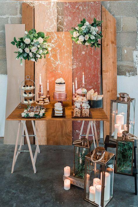 Industrie Chic industrie-chic in kupfer, rosa & blau | wedding | pinterest | wedding