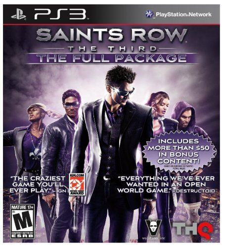 Saints Row The Third The Full Package Playstation 3 Read More