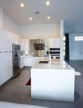 Modern White Kitchen   Modern   Kitchen   Miami   Fresh Floor, Kitchen U0026  Bath