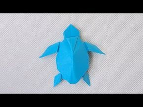 Origami Turtle | How to make a Turtle | Origami Turtle | Origami ... | 217x290