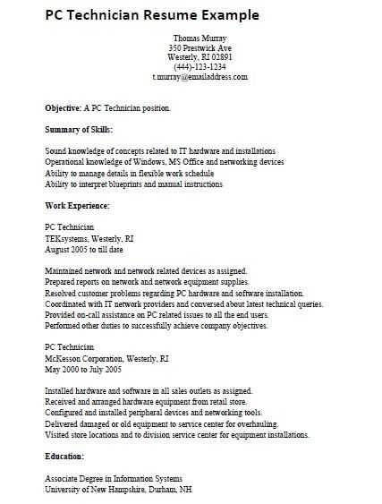 20 Of The Best Ideas For Computer Technician Resume Check More At Http Sktrnhorn Co Computer Engineering Resume Templates Resume Examples Engineering Resume