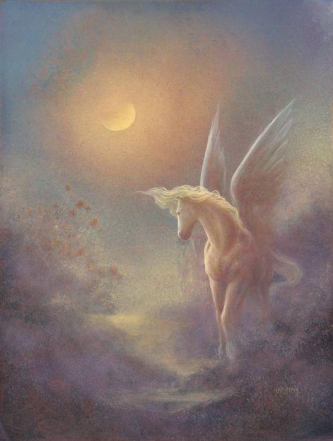 Mystical Art, Fantasy, Fantasy Art, Art, Pegasus Art, Unicorn Art, Mythological Creatures, Pegasus, Aesthetic Art
