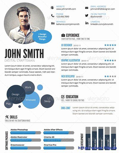 Visual Resume Template Free Awesome 29 Awesome Infographic Resume Templates You Want To Steal In 2020 Infographic Resume Infographic Resume Template Visual Resume