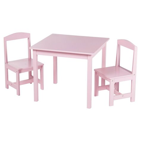 Target Marketing Systems Hayden 3 Piece Table And Chair Set