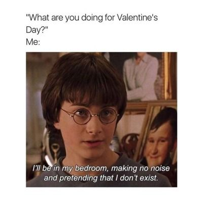 Harry Potter Memes Tumblr Funny Pictures Valentines Day Memes Funny Single Memes