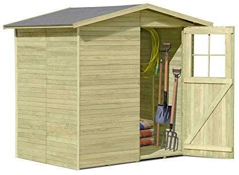 Gartenpirat Holzgeratehaus Frankfurt 180 X 180 Cm Amazon De Garten Gartenhaus Gerateschuppen Holz Gartenhaus Bauen