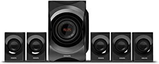 Philips Spa8000b 94 5 1 Channel Multimedia Speakers System Black 4 0 Out Of 5 Stars 1070 89908990 1049010490 Sav In 2020 Multimedia Speakers Philips Speaker System