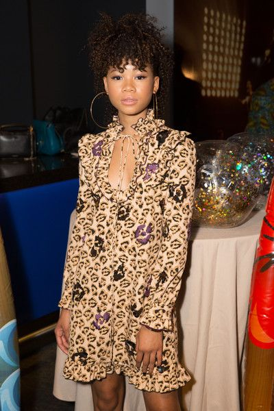 Storm Reid attends the Backstage Creations Celebrity Retreat At Teen Choice 2018.