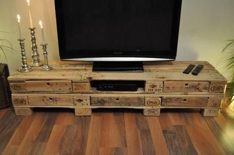 Mebelki Szafka Rtv Diy Tv Stand Pallet Projects Furniture Diy Tv