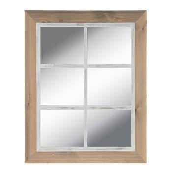 Arch Top Window Pane Mirror Wood Wall Decor Hobby Lobby