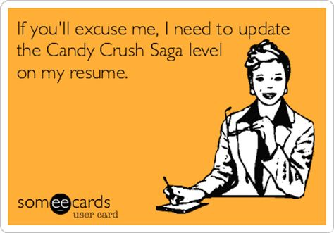 Take a Breath Read This Post Resume Playing Candy Crush - post resume