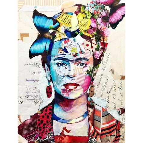 Frida Kahlo, Collage