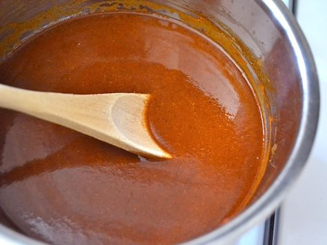 Red Enchilada Sauce// good - go easy on the cayenne, add a bit more garlic