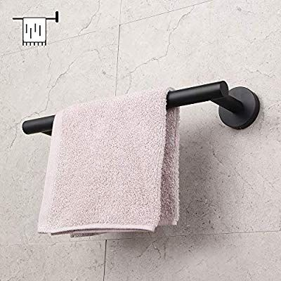 Amazon Com Contemporary 12 Inch Towel Bar Bath Hand Towel Holder Sus 304 Stainless St Bathroom Organisation Hand Towel Holder Fabric Storage Baskets