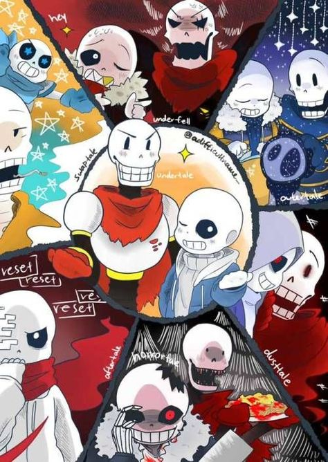 Ok   Every other sans and papyrus is cool with me except