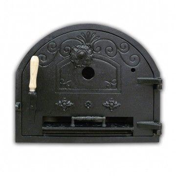 Puerta De Hierro Fundido Superior Para Hornos De Lena Puertas De Acero Horno De Lena Chimenea De Hierro Fundido