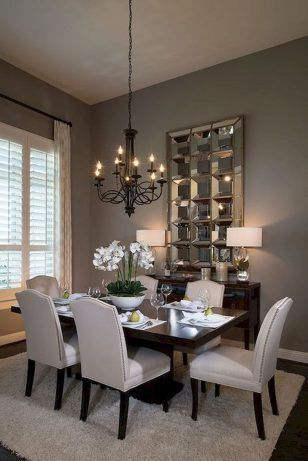 Dining Room Wall Decor, Small Dining Room Chandeliers