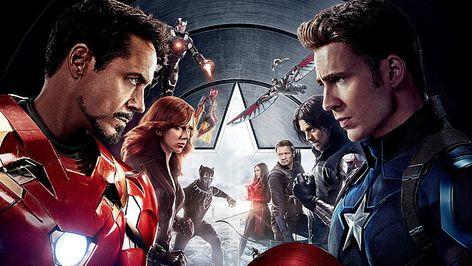 HD wallpaper: Captain America: Civil War, movies, Iron Man, Black Widow, War Machine