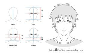 Anime Male Serious Facial Expression Facial Expressions Drawing Face Drawing Anime