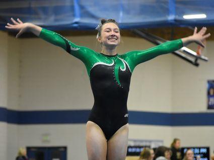 Niwot's Mia Curry wins Class 4A state gymnastics all-around
