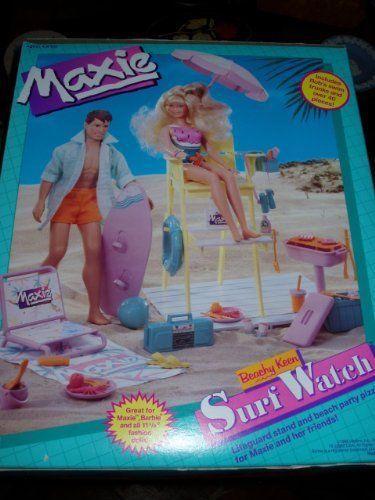 BEAUTIFUL 1988 HASBRO BEACHY KEEN MAXIE DOLL NEW IN BOX